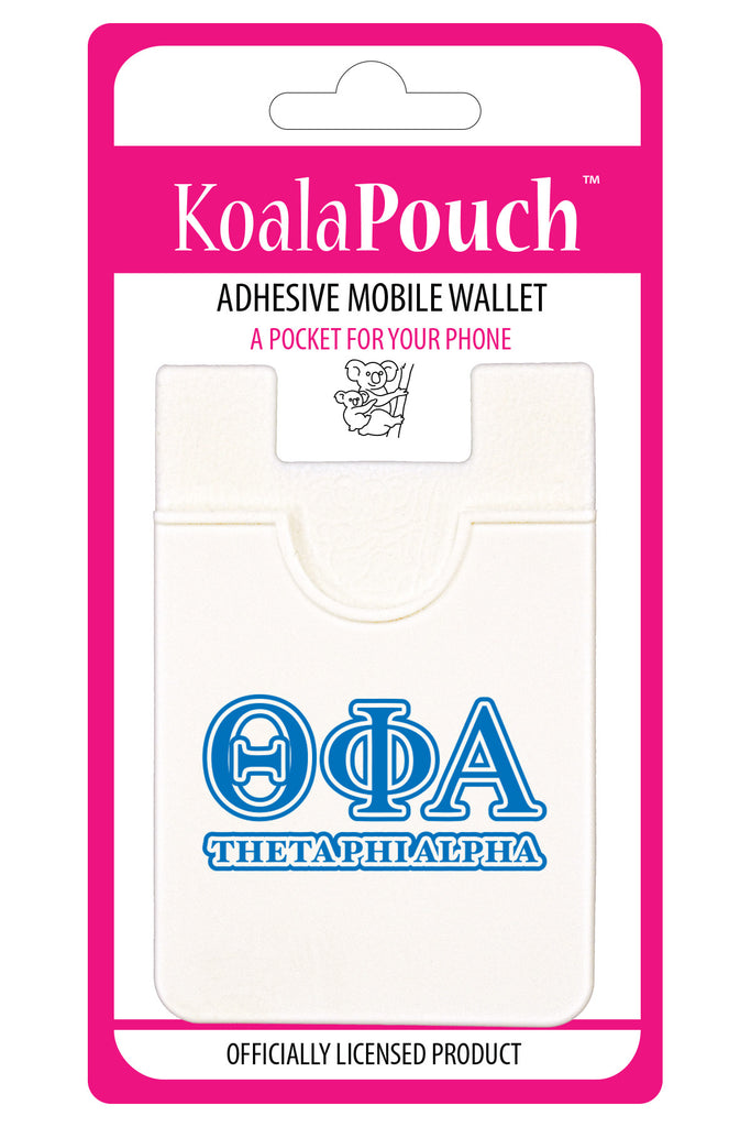 Theta Phi Alpha<br> Koala Pouch<br>Adhesive wallet for your phone