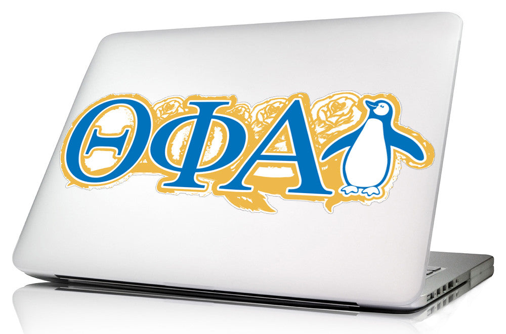 Theta Phi Alpha <br>11.75 x 5 Laptop Skin/Wall Decal