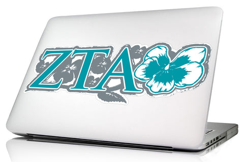 Zeta Tau Alpha <br>11.75 x 4.5 Laptop Skins/Wall Decals