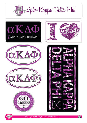 Alpha Kappa Delta Phi <br> Lifestyle Stickers