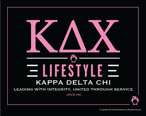 Kappa Delta Chi <br>Lifestyle Poster