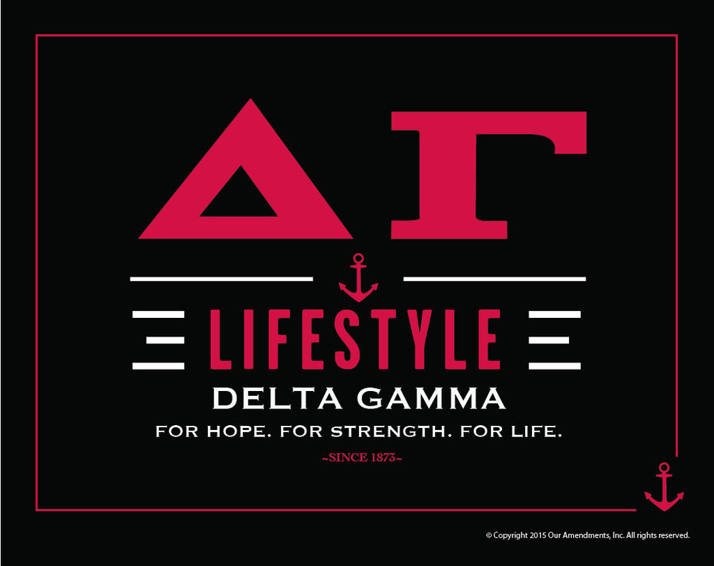 Delta Gamma <br> Lifestyle Poster