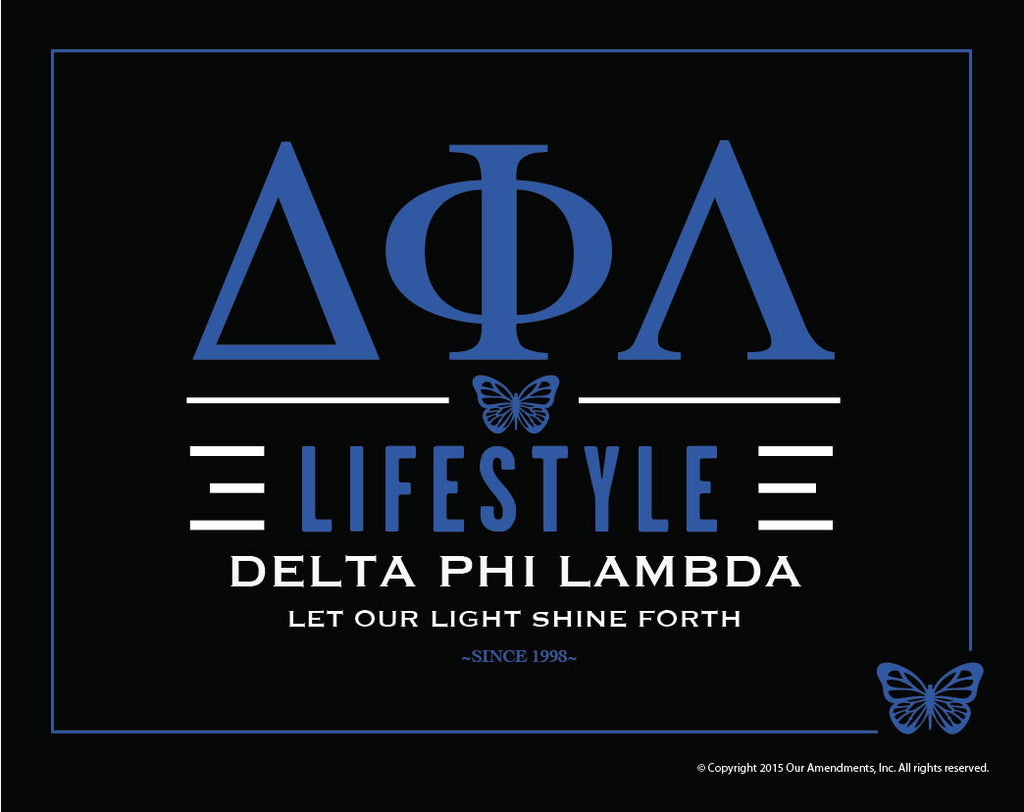 Delta Phi Lambda <br> Lifestyle Poster