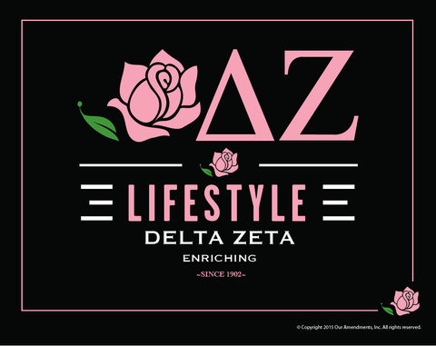 Delta Zeta <br> Life Style Poster
