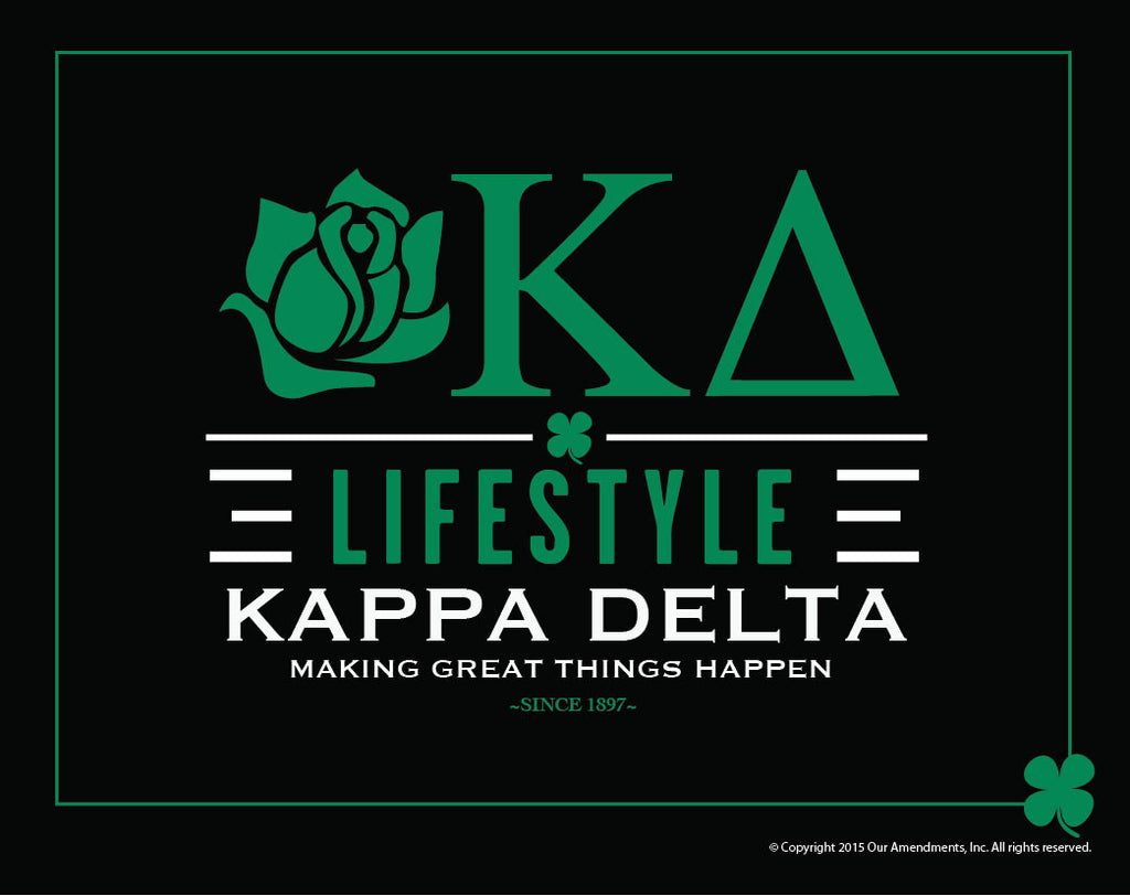 Kappa delta <br> Lifestyle Poster