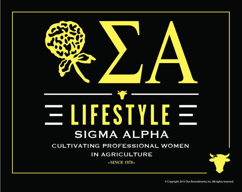 Sigma Alpha <br> Lifestyle Poster