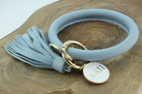 Alpha Delta Pi Bangle Sorority Keychain