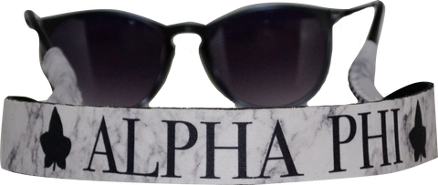 Alpha Phi <br> Sunglass Strap <br> Marble Theme