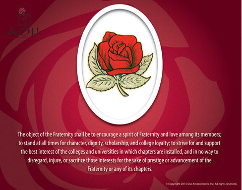 Alpha Omicron Pi <br> Tribute Poster