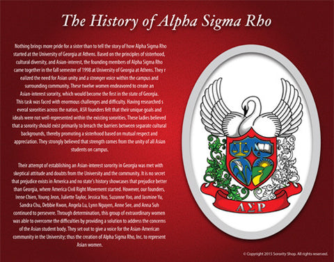 Alpha Sigma Rho <br> Tribute Poster