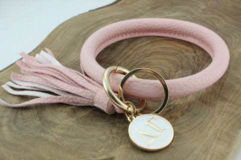 Delta Gamma Bangle Sorority Keychain