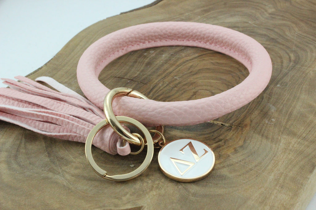 Delta Zeta Bangle Sorority Keychain