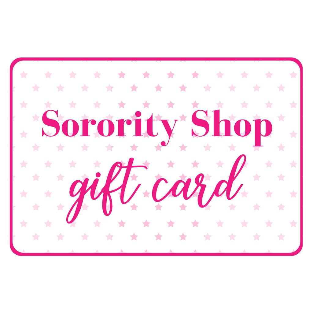 Sorority Shop Gift Card
