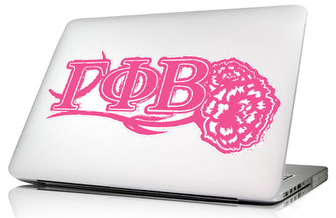 Gamma Phi Beta <br>11.75 x 5.5 Laptop Skin/Wall Decal