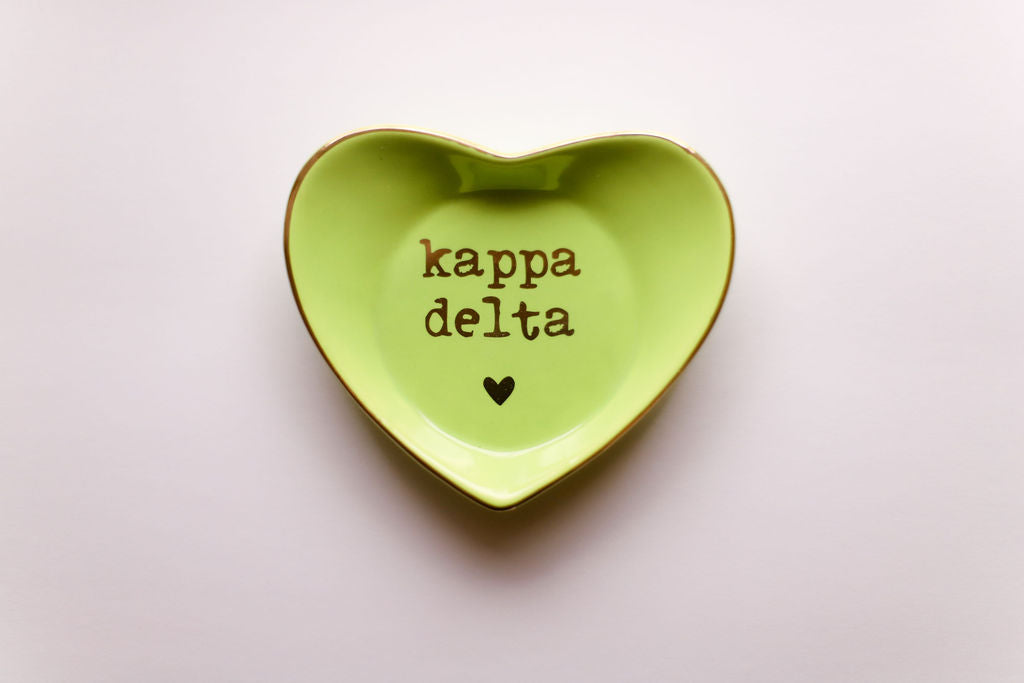 Kappa Delta Ceramic Ring Dish