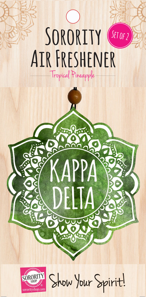 Kappa Delta <br> Mandala Air Freshener <br> 2/Package