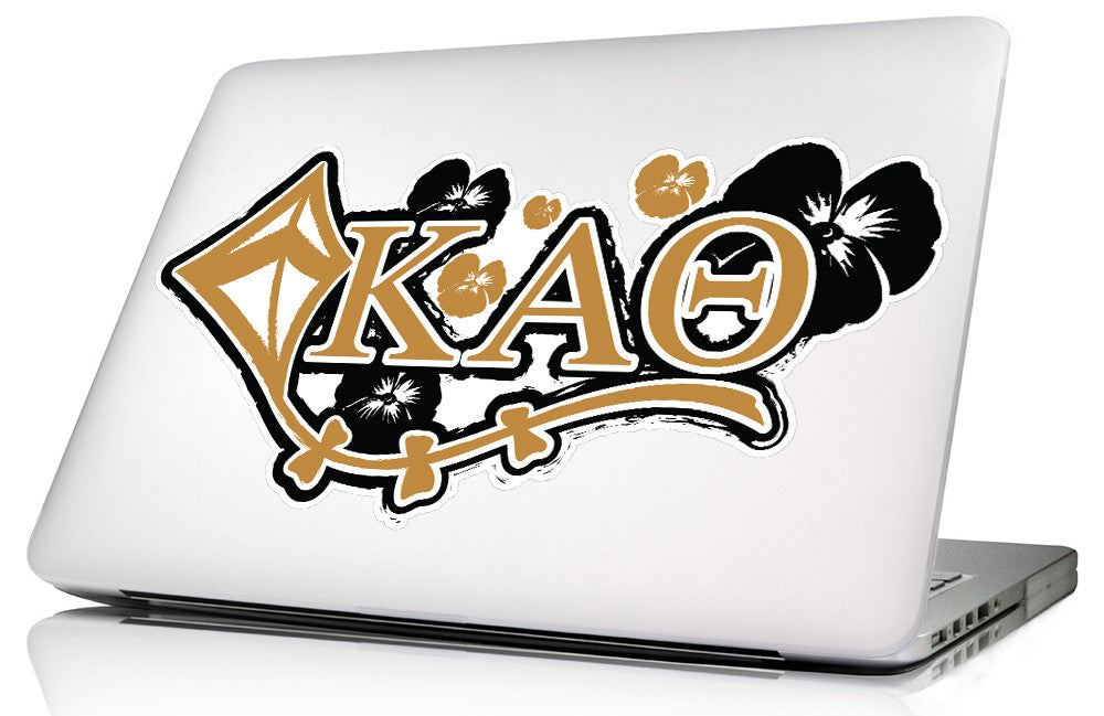 Kappa Alpha Theta <br>11.75 x 6 Laptop Skin/Wall Decal