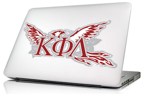 Kappa Phi Lambda <br>11.75 x 4.75 Laptop Skin/Wall Decal
