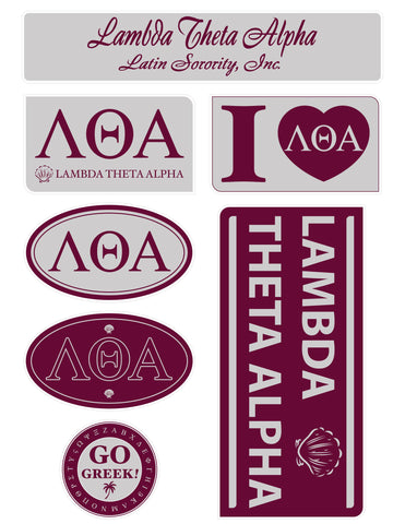 Lambda Theta Alpha <br> Lifestyle Stickers