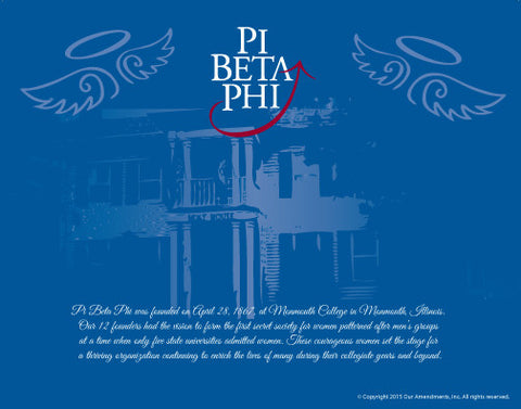 Pi Beta Phi <br> Tribute Poster