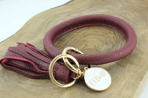 Pi Beta Phi Bangle Sorority Keychain