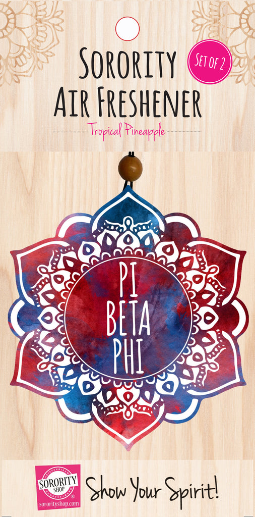 Pi Beta Phi Mandala Air Freshener
