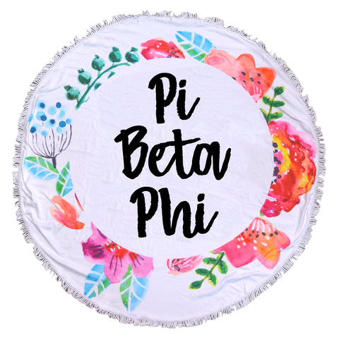 Pi Beta Phi Towel - Blanket