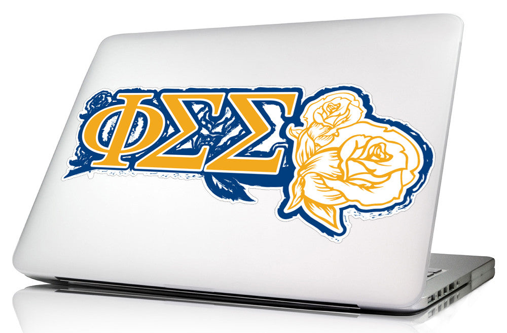 Phi Sigma Sigma <br>11.75 x 5 Laptop Skin/Wall Decal