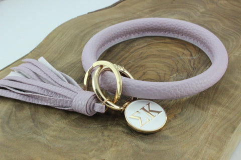 Sigma Kappa Bangle Sorority Keychain