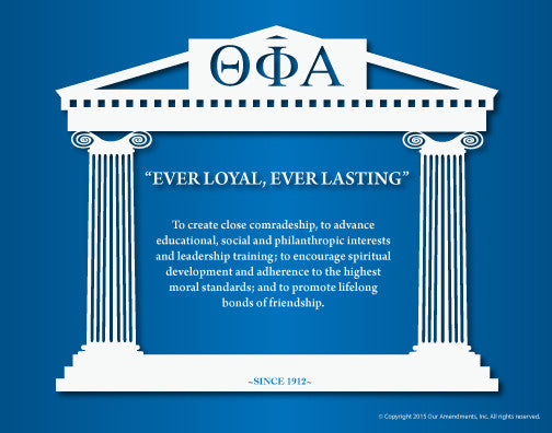 Theta Phi Alpha <br> Mission Poster