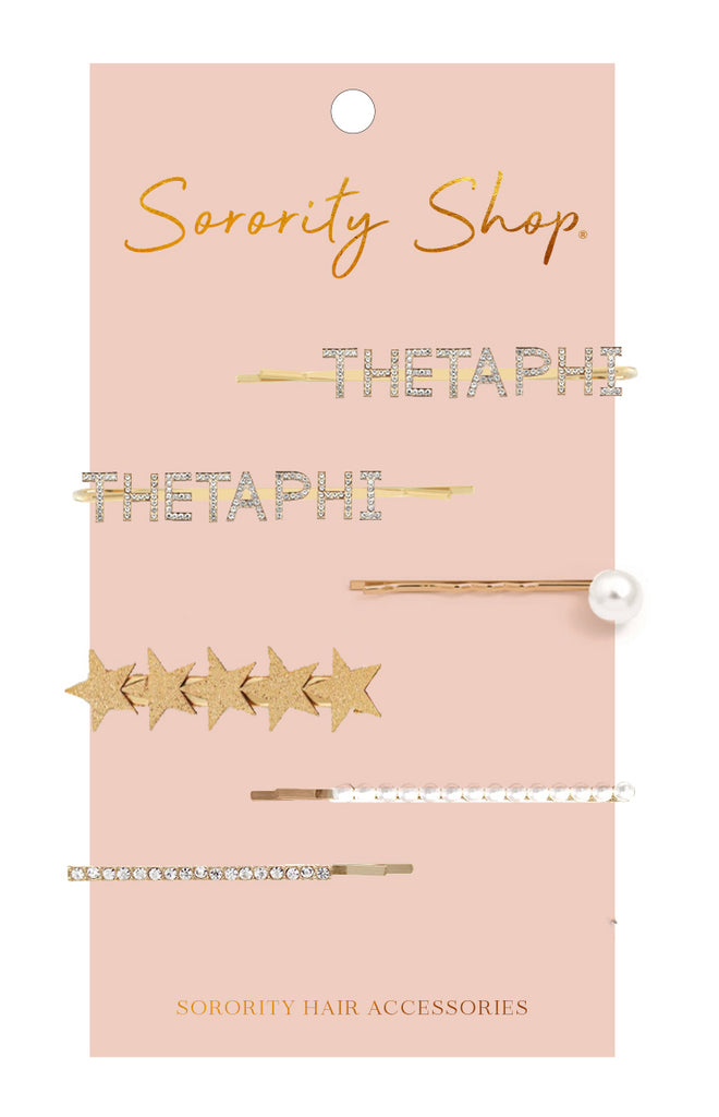 Theta Phi Alpha Sorority Hair Clips