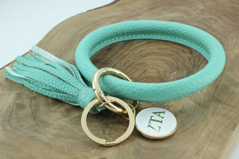 Zeta Tau Alpha Bangle Sorority Keychain