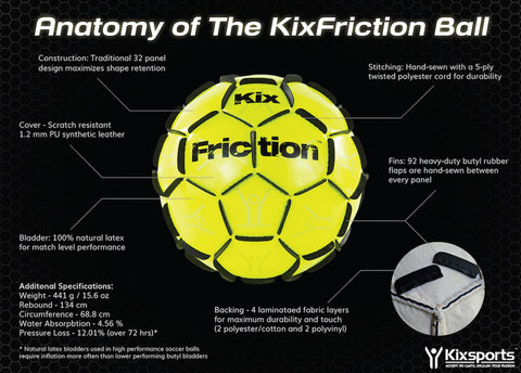 KixFriction Ball - Soccer Training - Balls -  - Kixsports - 3