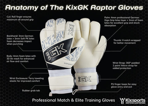 KixGK Raptor - Gloves -  - Kixsports - 4