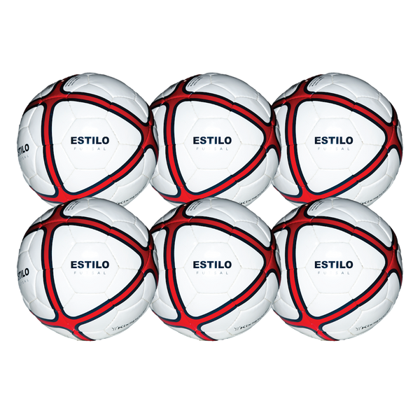 Estilo Futsal Ball Team 6 Pack - 33% OFF