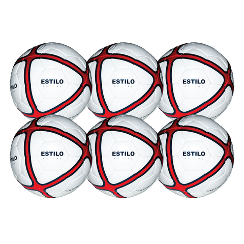 Estilo Futsal Ball Team 6 Pack - 33% OFF - Balls -  - Kixsports