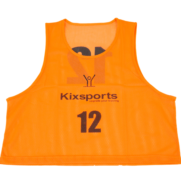 Training Vests (12 Pack) - Vests - Orange - Kixsports - 1