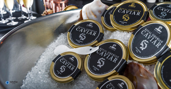 Attilus Caviar at Seafood Expo Global 2019