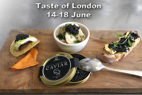 Attilus Caviar | Taste of London | Tasting event
