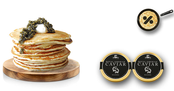 Attilus Caviar | Caviar price | Buy Caviar online | Pancake Day UK
