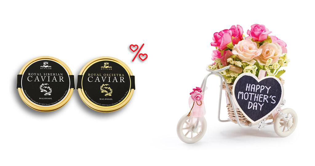Mother's Day offer buy Attilus caviar online price