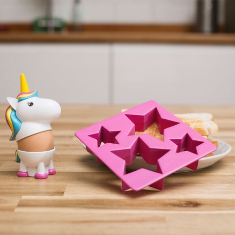 Unicorn Egg Cup & Toast Cutter Set