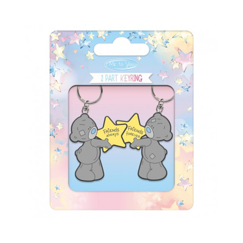 ''Friends Always'' 2 Part Key Ring