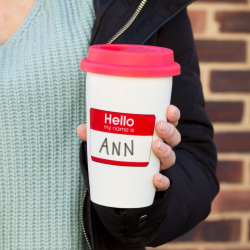 'My Name Is' Travel Mug