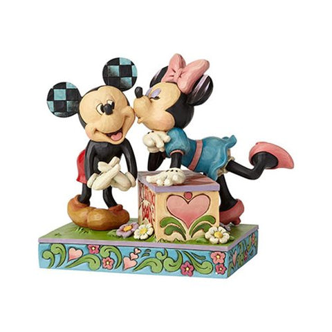 Mickey and Minnie Mouse ''Kissing Booth''