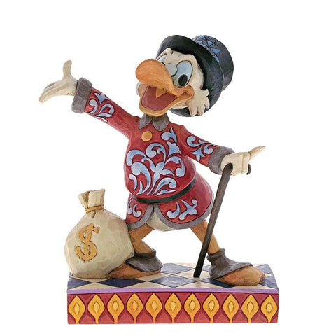 Treasure Seeking Tycoon - Scrooge Figurine