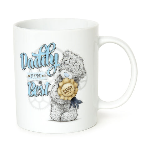 ''Daddy You're The Best'' Me to You Bear Boxed Mug