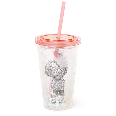 Me to You Plastic Re-Usable Cup with Straw