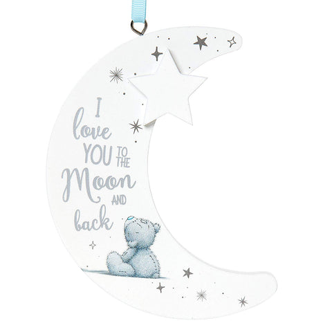 ''Love You To The Moon'' Me To You Bear Plaque