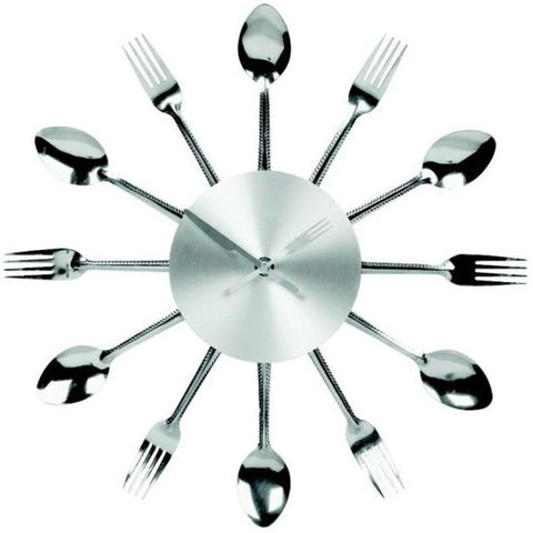 Fork Knife Spoon Wall Clock